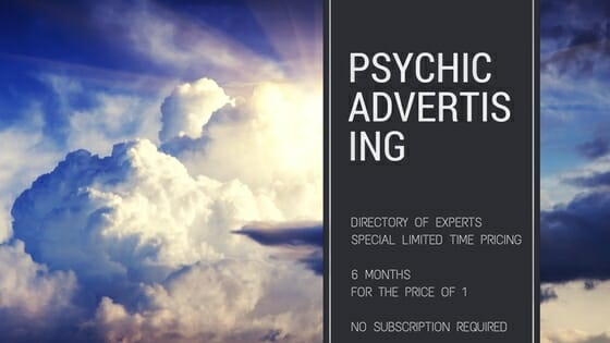 Psychic Advertising: Limited 3-day Special Pricing