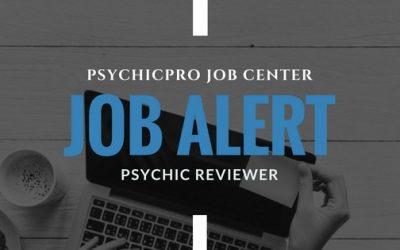 New Job Alert: Psychic Reviewers