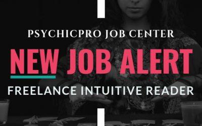 New Job Alert: Freelance Intuitive Readers