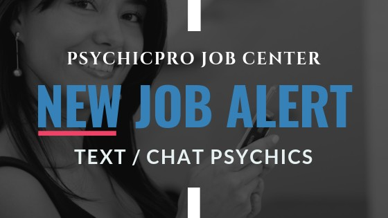 New Job Alert: Chat/Text Reader