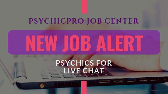 New Job Alert: Live Chat Psychics